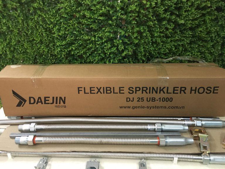 Dây mềm nối đầu phun sprinkler sản xuất tại việt nam
