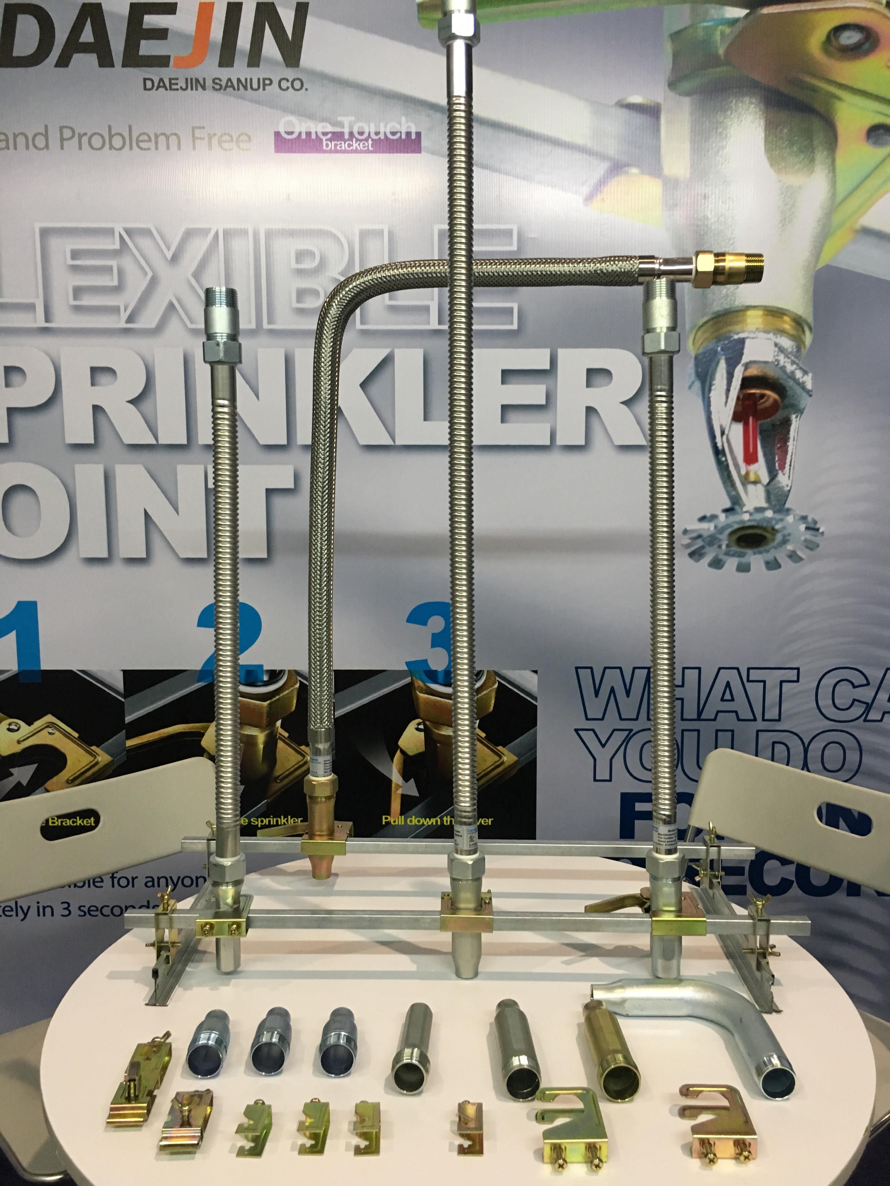 Ống mềm nối đầu phun sprinkler (FM) DJ25B2000 dài 2000mm