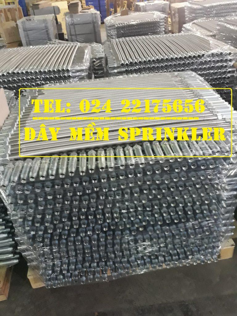 Ống mềm dành cho đầu phun chữa cháy hãng Daejin sản xuất việt Nam