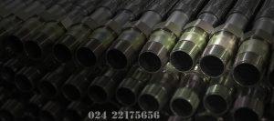 Thông số ống mềm nối đầu phun sprinkler dài 3000mm không vỏ bên Inox