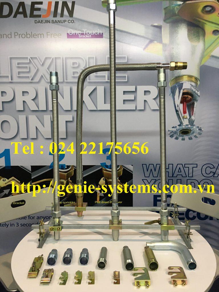 Ống mềm nối sprinkler có vỏ bện inox dài 1500mm