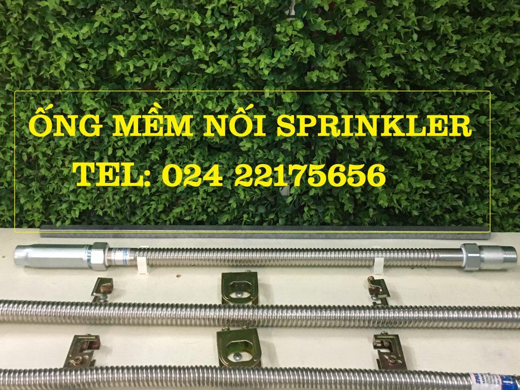 Dây mềm nối đầu phun sprinkler DN15