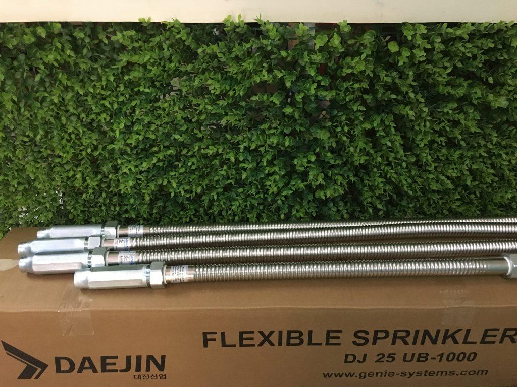 Ống mềm dành cho đầu phun chữa cháy Sprinkler/ có kiểm định PCCC/ Daejin