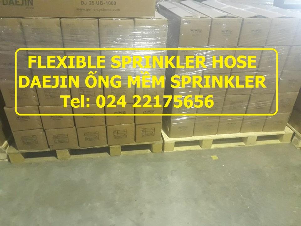 Dây mềm nối sprinkler dài 1200mm Daejin