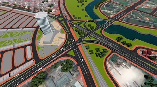 Nút giao thông Nam Cầu Bính Hải Phòng