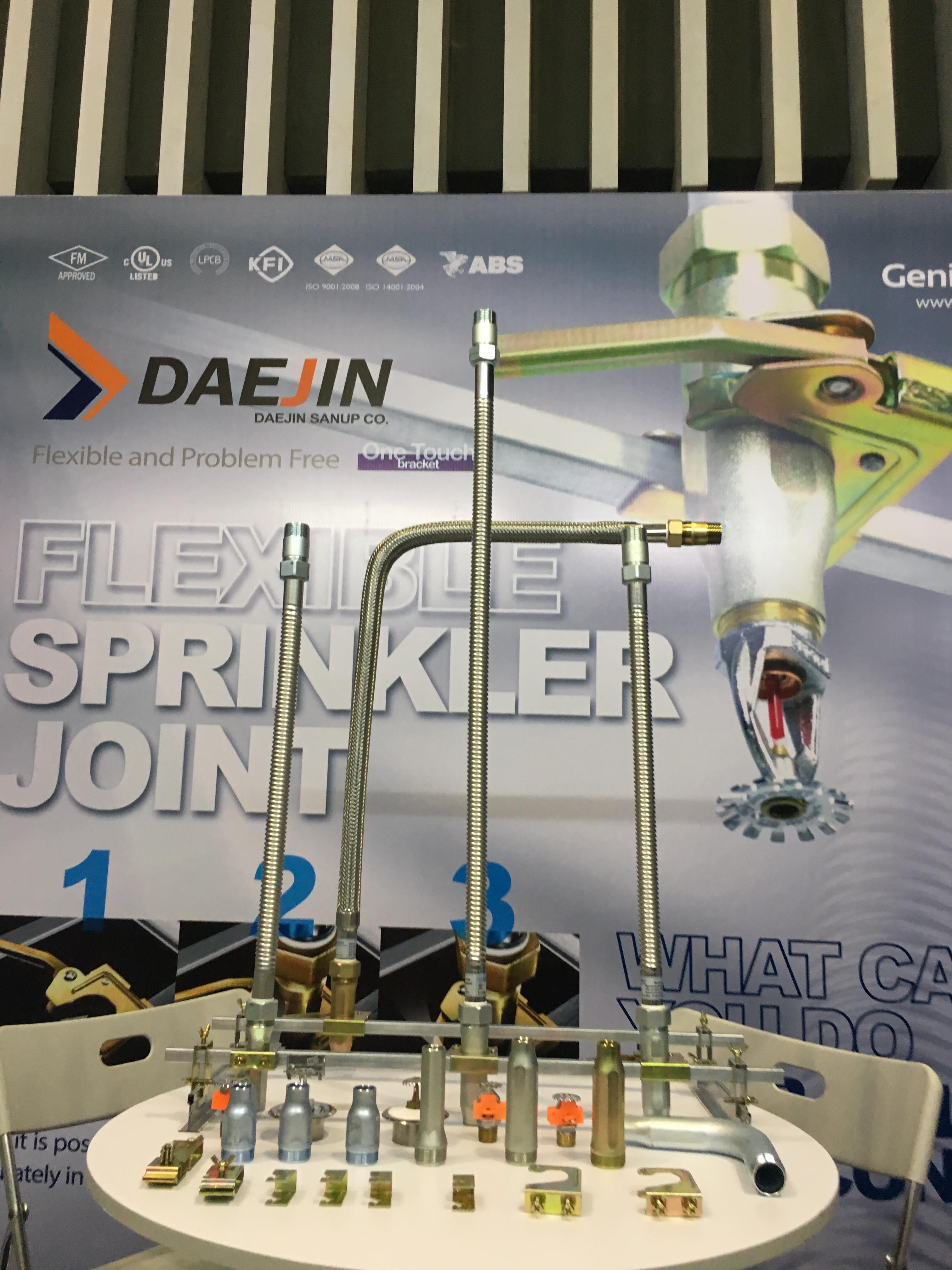 """Dây mềm DN25(1"""") nối đầu phun sprinkler, 16bar – dài 700mm"""