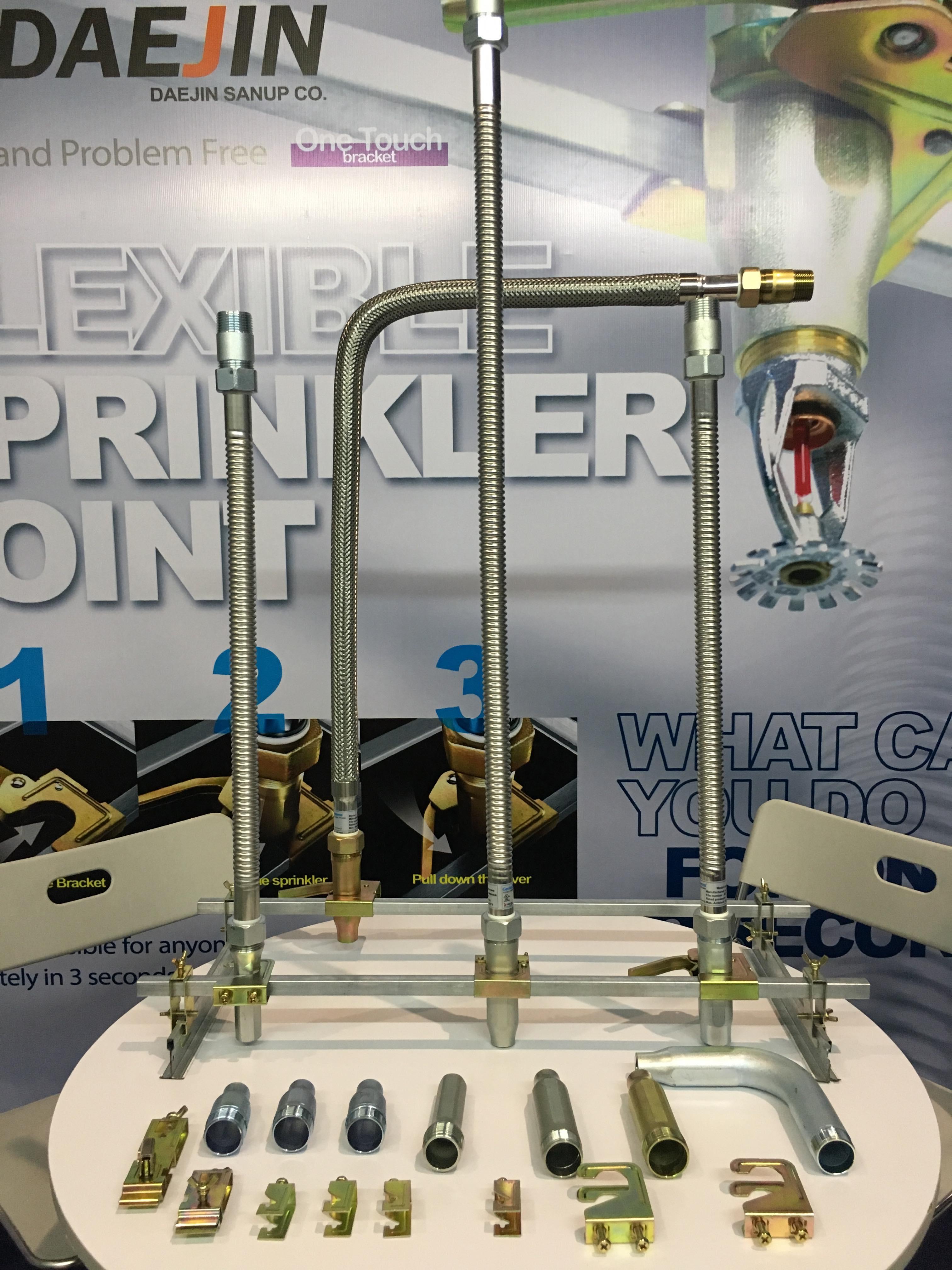 Dây mềm Inox nối đầu phun sprinkler DJ25B1800 dài 1800mm (FM)