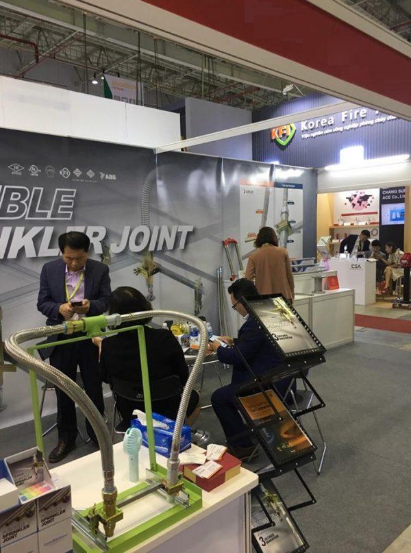 Triển lãm quốc tế thiết bị Phòng Cháy chữa cháy – sản phẩm Daejin năm 2019