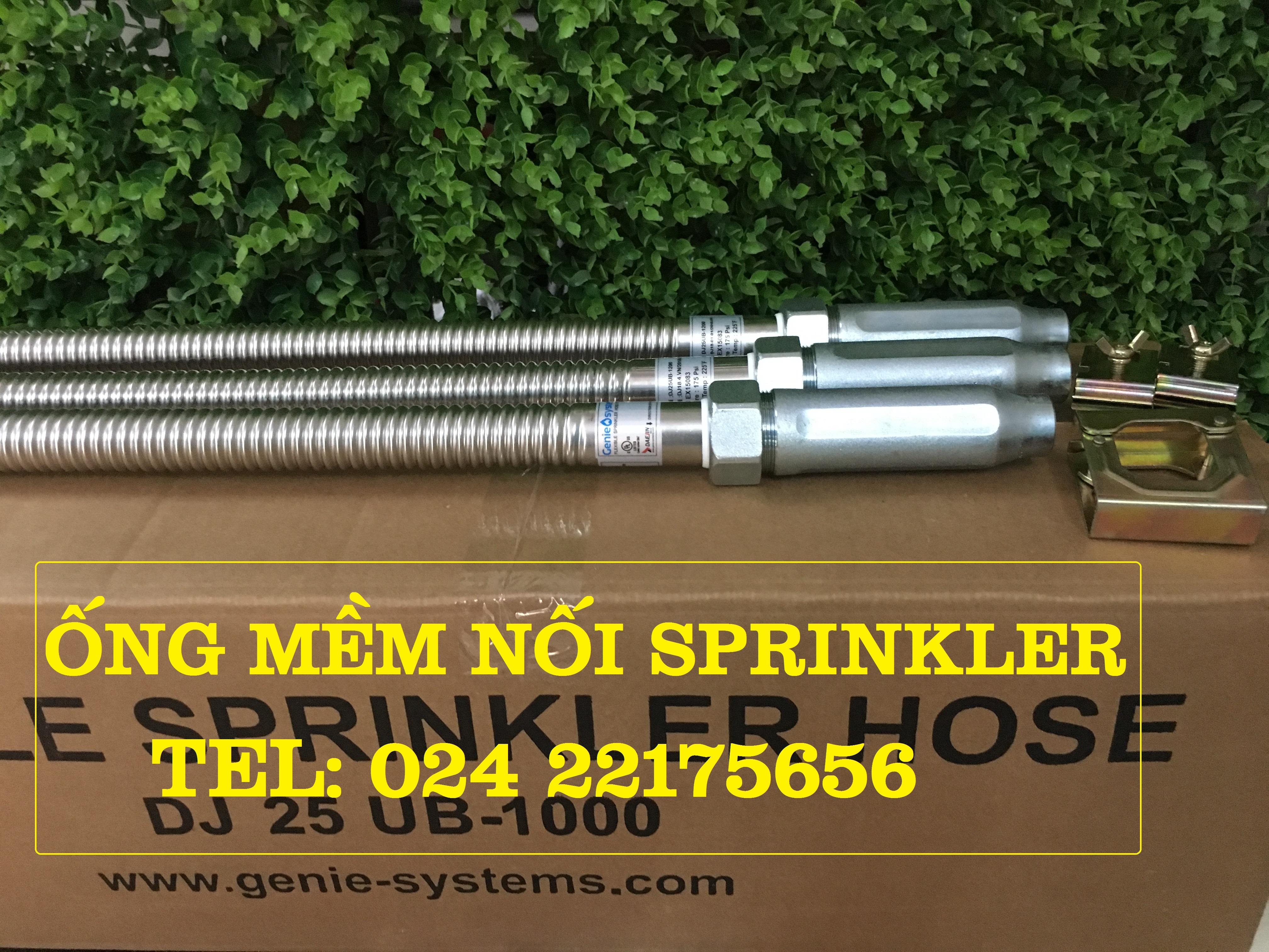Các loại ống mềm nối đầu phun Sprinkler hãng Daejin