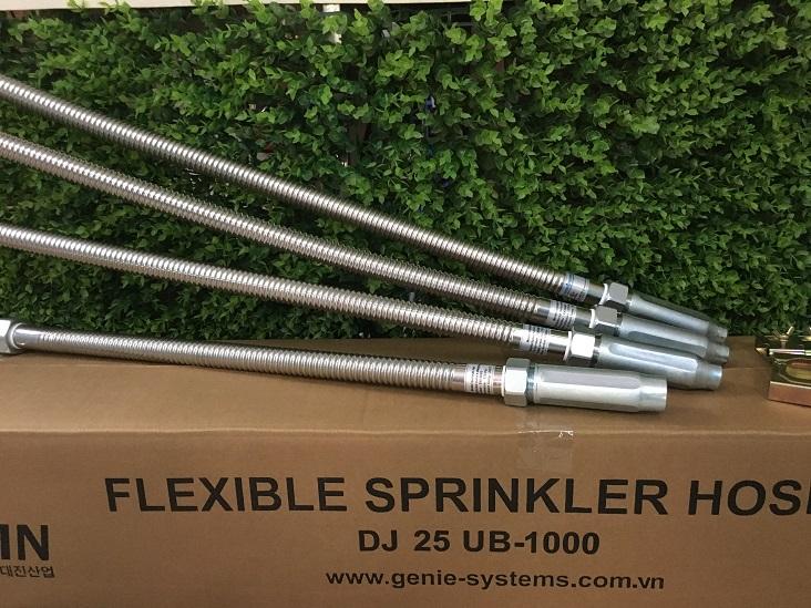 Thông số Dây mềm nối đầu phun Sprinkler dài 2500mm không có vỏ bện Inox